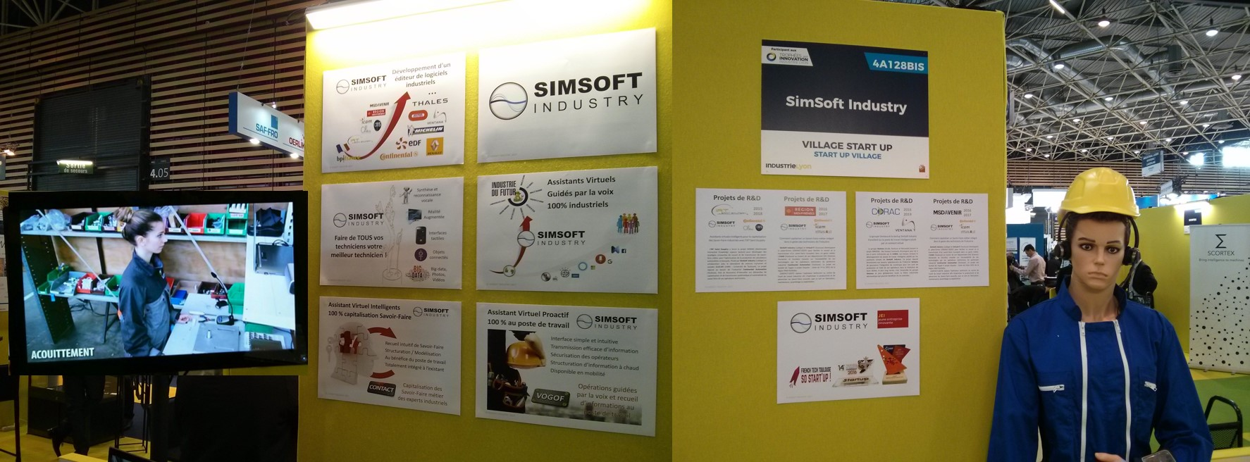 SIMSOFT INDUSTRY salon Industrie Lyon 2017